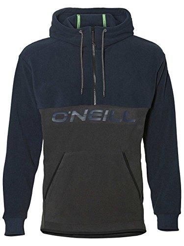 O'Neill Herren 1/4 Zip hybrid Fleeces, Dark Grey Melee, S - 1/4 Zip Outdoor Fleece