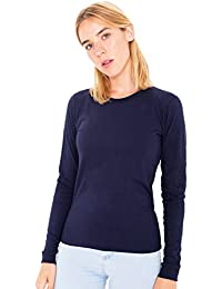 Ladies Crew Neck Full-Sleeve Cotton Plain Quality Tops- Attractive Colours(REF:2215)