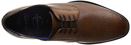 Bugatti 311251041100, Scarpe Stringate Derby Uomo Marrone (Cognac)