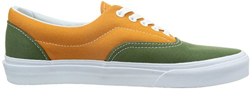 Vans Era, Scarpe da Skateboard Unisex – Adulto Multicolore (Bronze Green/Gold)