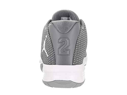 Nike Jordan B.Fly (GS) Sneaker Turnschuhe Basketballschuhe Schuhe für ältere Kinder Grau (Cool Grey/White/Wolf Grey)