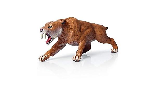 Personaggio//personaggio del gioco Papo 55022-Dino//Dinosauri denti a sciabola Tiger-NUOVO