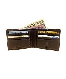 Swiss Military Men Brown Wallet (LW16)