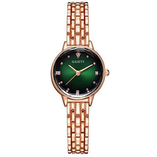 Damen Smartwatch und Smart Watch Damen Sportuhr Damen Smartwatch Frauen Uhr europäisch Und amerikanisch Einfach Beiläufig Mode Mauerwerk Rahmen Vorzüglich Damen E