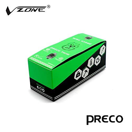Preco Tank 3ml, mesh coil 0.15ohm - 24 mm, Box with 10 Preco (Nein Nicotine) (Clear) Subs Sealed Box