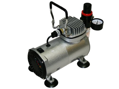 bc-elec-Mini Kompressor Airbrush Modell AS18-2, 0-4Bars -