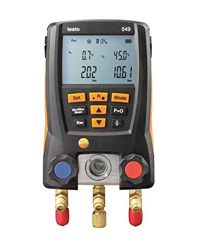 Testo 549 - die Monteurhilfe für Kälteanlagen und Wärmepumpen, 0560 0550