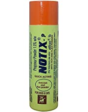 Dog Lovers Notix Anti-Tick and Flea Pet Care Powder for Dogs, 100 g