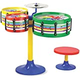 TOYZTREND Musical Instruments for Kids(Assorted Colours & Designs) (Jazz Drum Set for Kids)