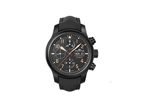 Fortis Orologio per Uomini Aeromaster Stealth Automatico Cronografo 656.18.18 LP 01
