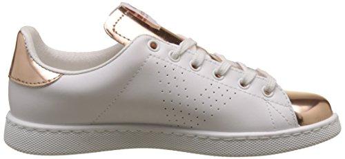 victoria Damen Deportivo Piel/Espejo Sneakers Pink (Rosa)