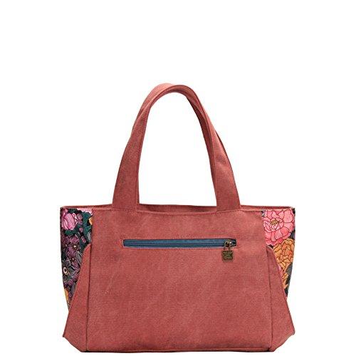 Mme sac à bandoulière/Art simple sac de toile/sacs à main de loisirs-A A