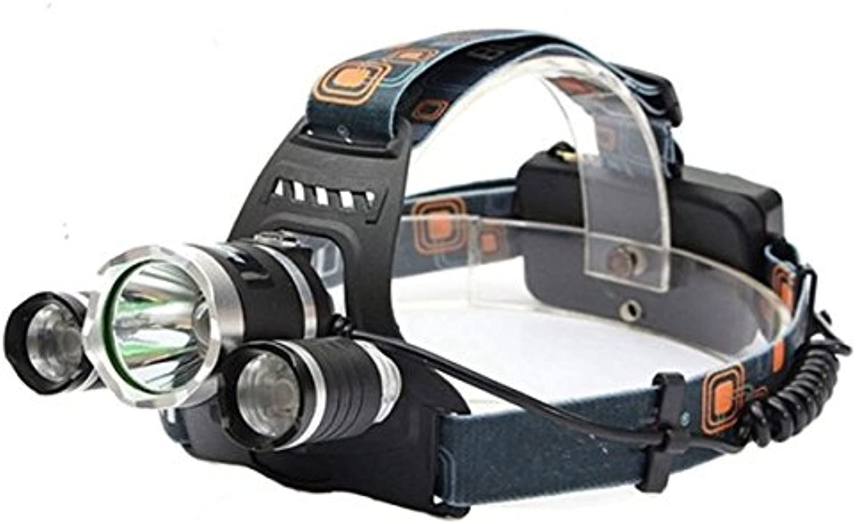 PhilMat XM-L T6 LED faro recargable de la linterna de la antorcha  -