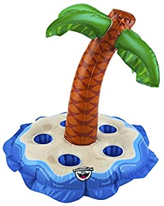 Big Mouth Toys BMDF-0003 Big Mouth BEV Barco Multi Palmera, Color