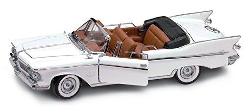 1961 Chrysler Imperial Cabrio [Lucky Die Cast 20138W], Weiß, 1:18 Die Cast - 1961 Imperial