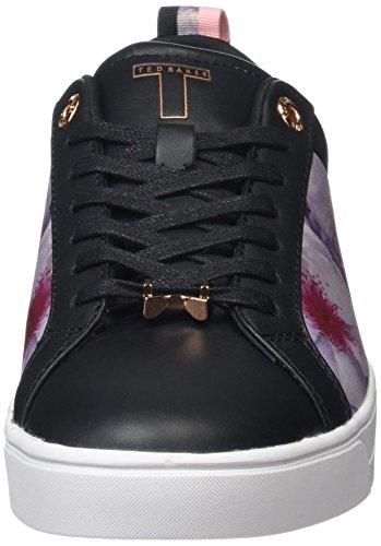 Ted Baker Damen Fushar Sneaker Schwarz (Black)
