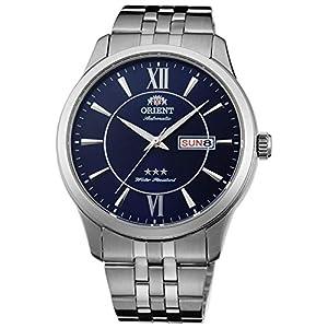 Orient Reloj Analógico para Hombre de Automático con Correa en Acero