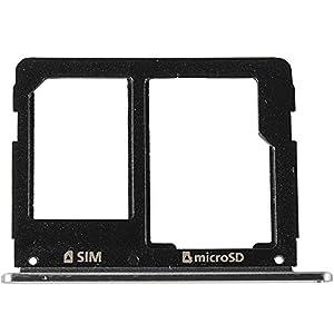 Original Samsung Sim und SD Kartenhalter black / schwarz für Samsung A310F, A510F Galaxy A3, A5 (2016) (Sim Tray, Holder) - GH98-38665B