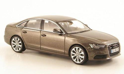 Preisvergleich Produktbild Audi A6 Limousine (C7),  met.-grau,  2011,  Modellauto,  Fertigmodell