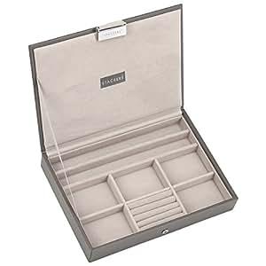 Stackers scatola porta gioielli colore grigio in - Porta gioielli fatti in casa ...
