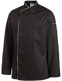 Leiber Kochjacke | Ganzer Arm | Eine Tasche | Mit Golffalte | Clean Dress | 2598