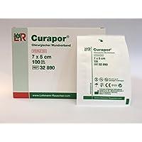 CURAPOR Wundverband 7x5cm steril, 100 St preisvergleich bei billige-tabletten.eu