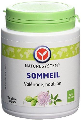 Naturesystem Phytothérapie Sommeil/détente Sommeil Valériane Houblon 150 Gélules 54 g