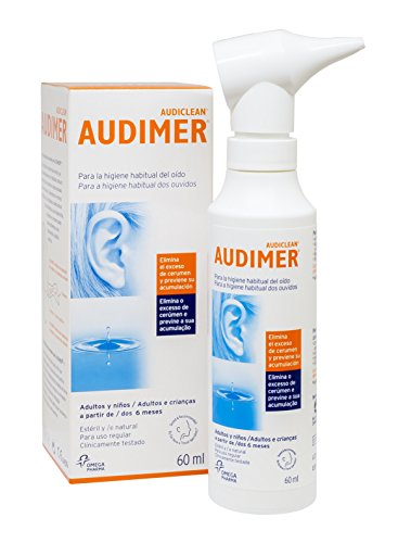 Audimer Spray - Higiene habitual del oído. Elimina exceso de cera y...