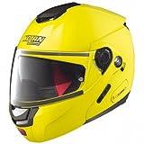 CASCO MOTO APRIBILE MODULARE NOLAN N90-2 HI-VISIBILITY (M, HI-VISIBILITY 022)