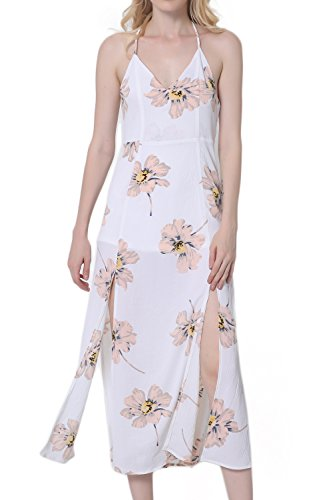 espaguetis-correa-raja-impresion-floral-maxi-vestido-de-las-mujeres-white-xxl