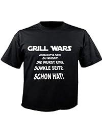 Motiv Fun T-Shirt Grillen Star Wars Party Bier Stimmung Malle Alko Motiv Nr. 2945