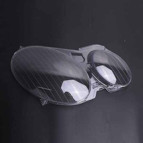 Aochuang Right Side Headlight Headlamp Lens Plastic Shell Cover For Mercedes Benz E-CLASS W211 E320 2006-2008