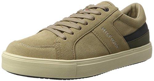 Tommy Hilfiger Herren M2285oon 1c2 Sneaker Dekollete Beige (Cashmere)