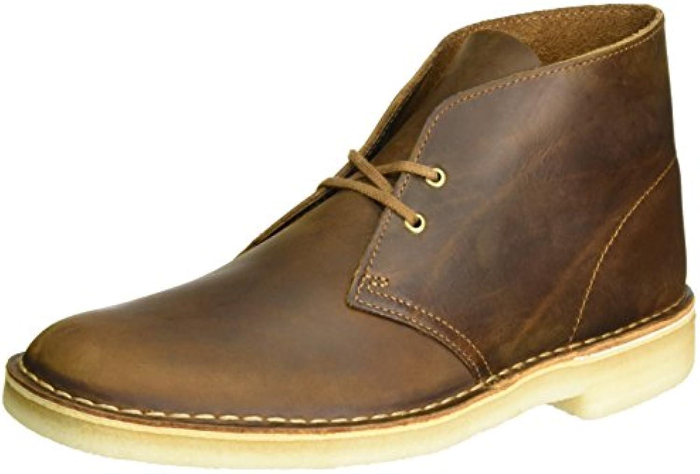Clarks Originals Herren Desert Boot Derby  Braun (Beeswax)  49.5 EU