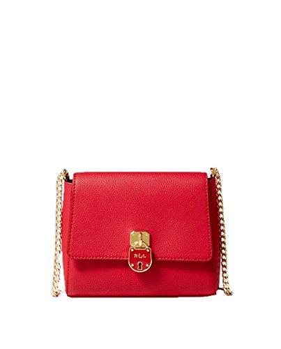 70b9ecb08 Ralph Lauren - Bolso cruzados para mujer Rojo rojo Small