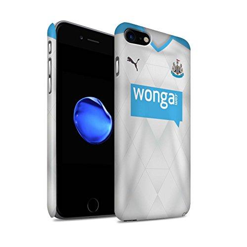Officiel Newcastle United FC Coque / Clipser Matte Etui pour Apple iPhone 7 / Taylor Design / NUFC Maillot Extérieur 15/16 Collection Footballeur