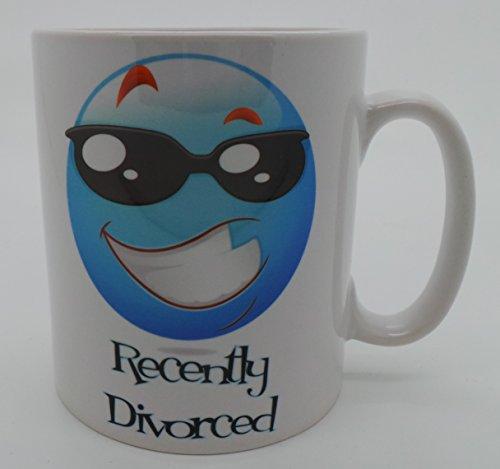 Funny Tassen,, kürzlich Geschiedene blau, Geschiedene Geschenke, GPO Group Exclsuive Design, Party Scheidung, Scheidung Geschenke, Mikrowelle Spülmaschinenfest 313ml Tasse