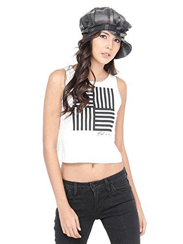 FabSeasons Casual Checkered Cap for Women & Girls