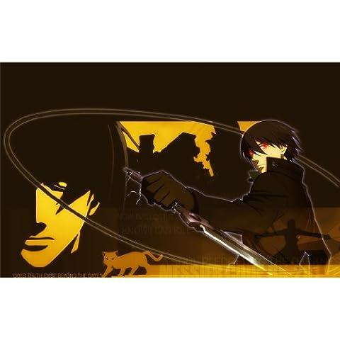 Darker than Black Poster On Silk <95cm x 60cm, 38inch x 24inch> - Affiche de Soie - 7D5C03