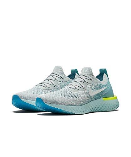 lowest price 38423 9d6f6 Nike Damen Epic React Flyknit Laufschuhe, Platin, 6 B(M) US