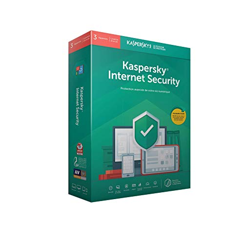 Kaspersky Internet Security 2019 (3 Postes / 1 An) 2019 3 appareils 1 AN PC/Mac/Android Téléchargem