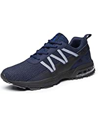 Homme Femme Chaussures de Sport Running Baskets Outdoor Sneakers Air Chaussures d' Course Fitness Gym,Respirante,Mode 36-47 EU