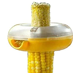 ETHAHE Machine à Egrainer le Maïs en Forme de Doughnut Facile à Utiliser Accessoire de cuisine