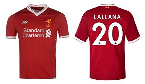 Camiseta hombre FC Liverpool 2017–2018Home–Lallana 20, Coutinho 10