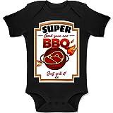 Shirtracer Karneval und Fasching Baby - BBQ Soße Kostüm - 18-24 Monate - Schwarz - BZ10 - Baby Body Kurzarm Jungen Mädchen