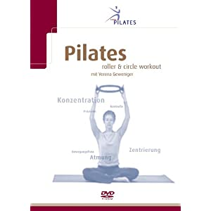 Sissel Pilates DVD Pilates Roller & Circle Workout, Mehrfarbig