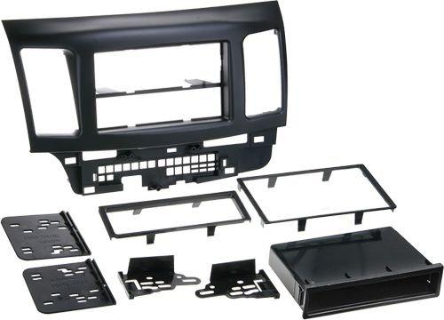 ACV 381200-06 2-DIN Rb mit Fach Radioblende (Mitsubishi Lancer Doppel Din Kit)