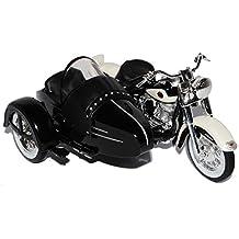 Nostalgisches Blechspielzeug Motorrad Mit Beiwagen Blechdeko