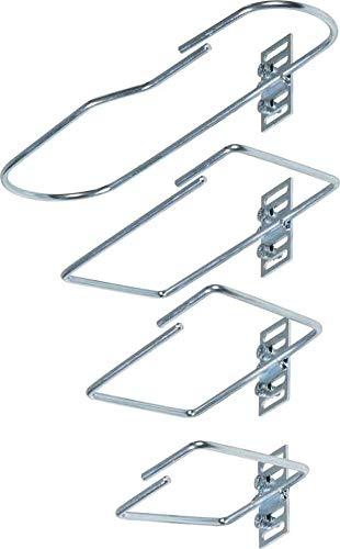 Schäfer IT-Systems Kabelführungsbügel 7968200 (VE10) Stahl, 82x170mm Kabelführung für Gehäuse/Schränke 4051273968203 -