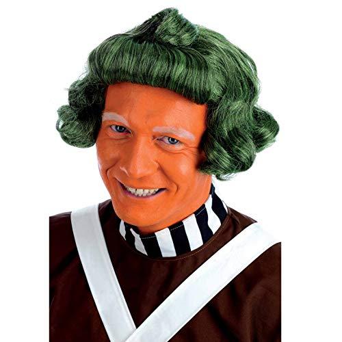 Fun Shack Herren Costume Kostüm Mens Oompa Loompa Wig, Einheitsgröße